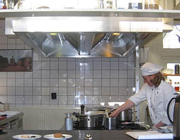 Large Kitchen Ventilation System